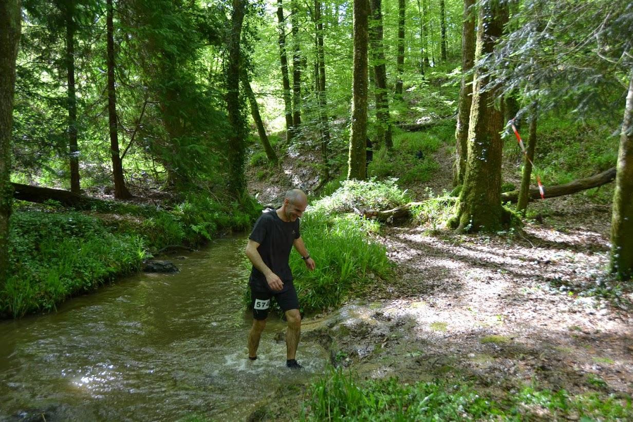 Logonna Sport Nature au trail de Hanvec le 10 mai 2015