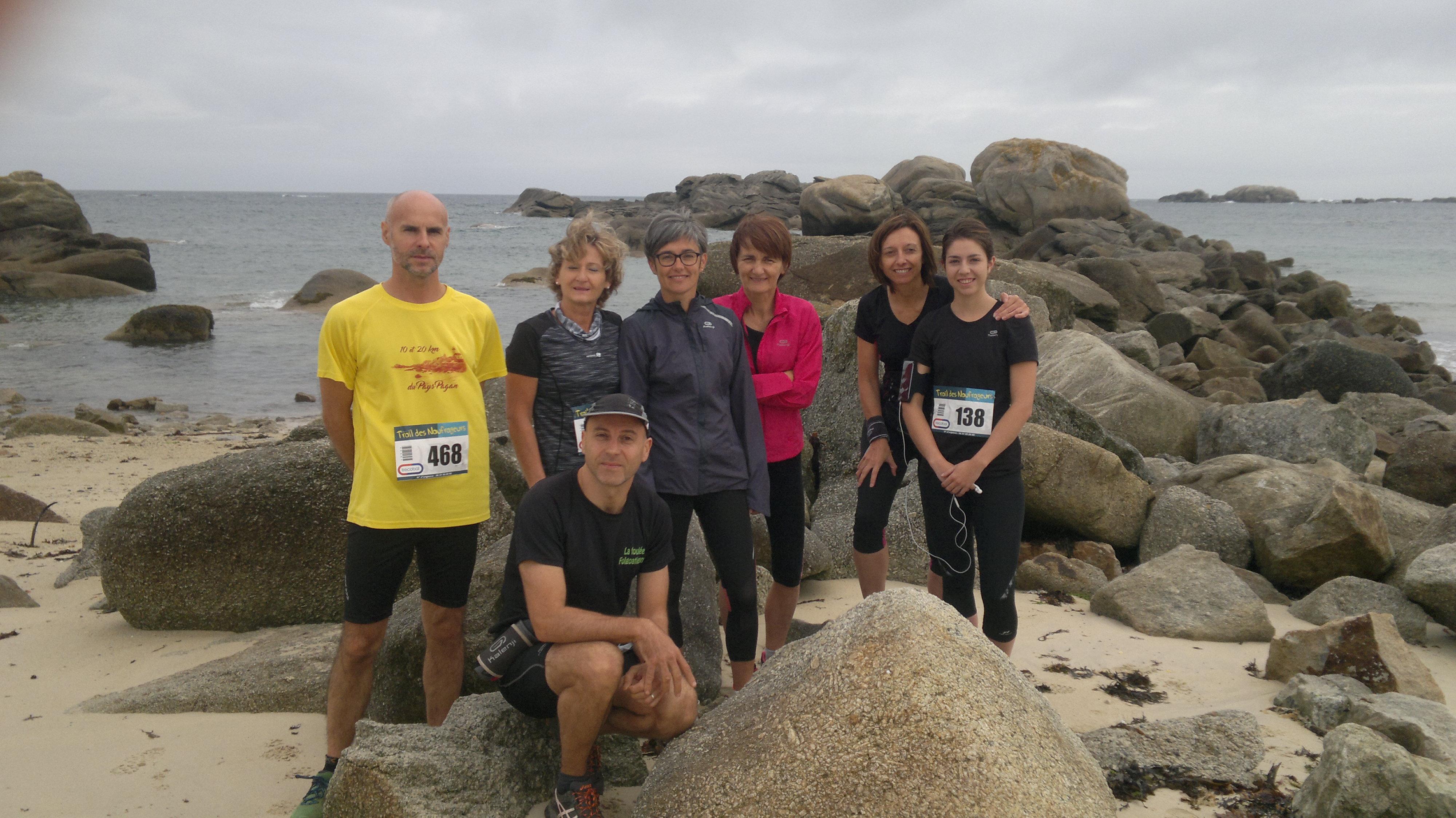 Logonna Sport Nature était présent au Trail des Naufrageurs